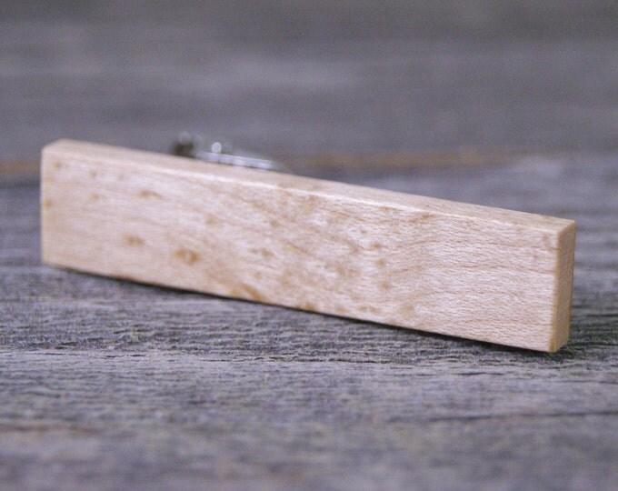 Tie Clip: Birdseye Maple