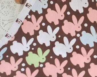 4183 - Rabbit Cotton Fabric - 58 Inch (Width) x 1/2 Yard (Length)