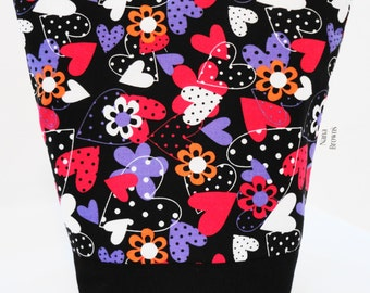 Insulated Lunch Bag by Nana Brown's - Hearts