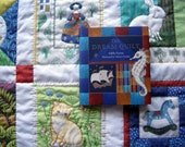 The Dream Quilt, illustrated book, signed.