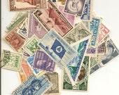 48 Vintage Postage Stamps