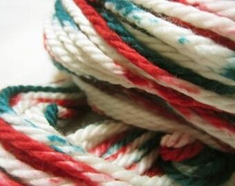 Peppermint Nougat Bulky yarn