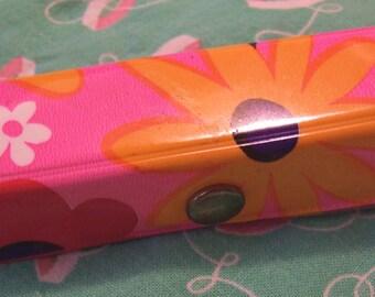 little vinyl flowers sewing kit