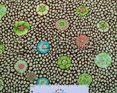 Kaffe Fassett GUINEA FLOWER Green GP59 Fabric - by the Yard, Half Yard, or Fat Quarter