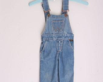 Vintage Wrangler overalls 12 months
