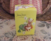 VIntage Fanny Farmer Easter Candy Box with Bunnies