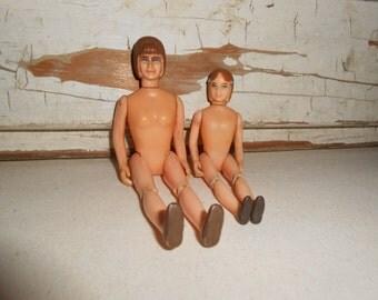 Vintage Tonka Toy Figurine Dolls, Vintage Dolls