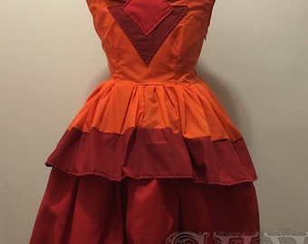 Flame Princess Dress Adventure Time