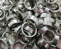 "Pewter Rings - 1/4"" x .070"" (2mm) thick - Qty 1"