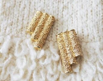 SALE - 1960s YSL Clip On Earrings