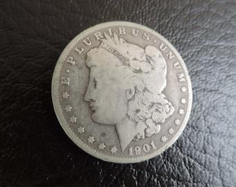 19O1-O Morgan Silver  Dollar