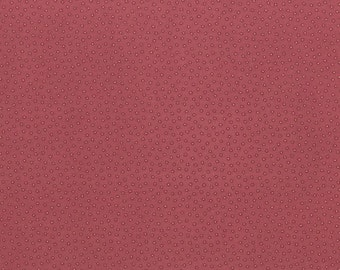 RJR Fabrics Land Of Joy 1911 3 Faded Red Dots By The Yard