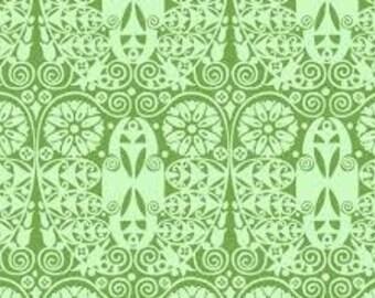 Amy Butler Fabric 1 Yard Original Soul Blossom Temple Doors Mint