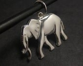 Elephant pendant - Sterling silver