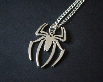 Spideman spider symbol necklace