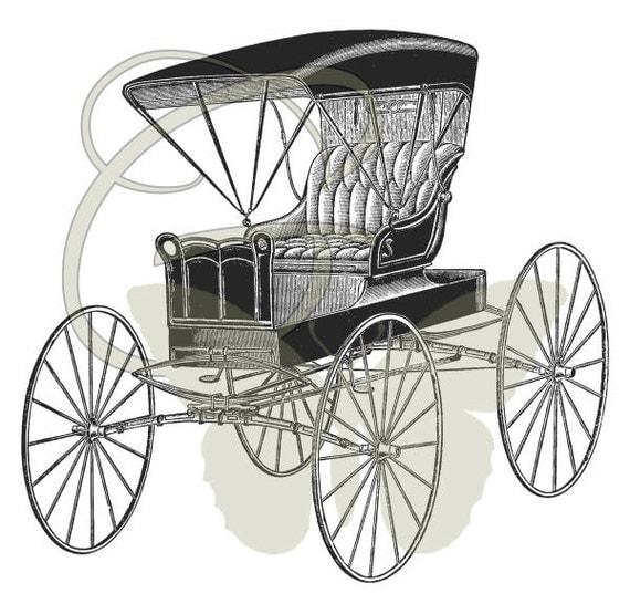 Car Artwork Image Digital Illustration Transfer Printable Clip Art Instant Download
