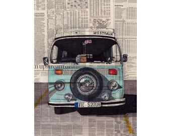 Westfalia art print