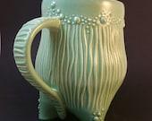 Handmade Ceramic Seafoam Green Mug