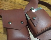 Custom iphone flask holster