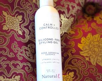 Natural Hair Gel/ Silicone Free Hair Gel/ Styling Gel/ Natural Styling Gel/ Essential Oils