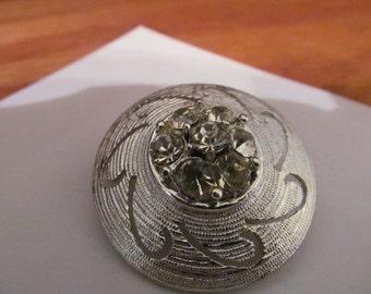 rhinestone swirl hub