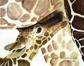 Baby Giraffe #3 Art Print...