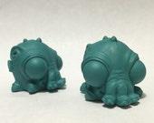 Set of Two Resin Cthulhu DIY Blank Garage Kit Figures