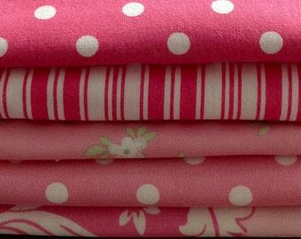 Tanya Whelan Fabrics,  2 3/8 yards + 1 Fat Quarter