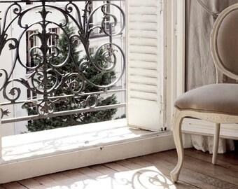 """SALE! Paris Photography, """"Paris Apartment"""" Paris Print, Large Art Print Fine Art Photography, Affordable Wall Art"""