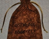Go smudge yourself game dice bag