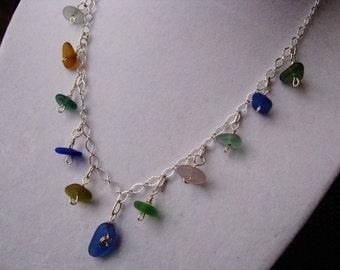 Sea Glass Necklace - Beach Glass Necklace - Sea Glass - Beach Glass Jewelry