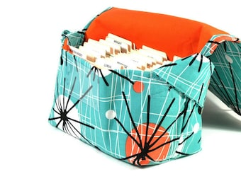 Coupon Organizer Mega Large Atomic in Turquoise
