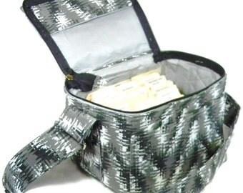 "Coupon Pocketbook, Coupon Bag, Coupon Binder, Coupon Holder, Modern Chevron,  Mega 6"" single wide Organizer"