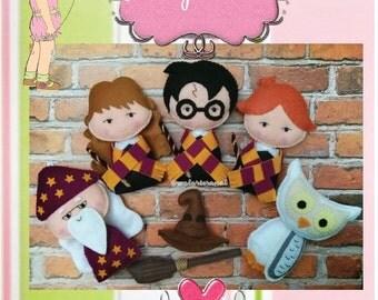 Harry Potter - PDF Pattern - Pocket Version