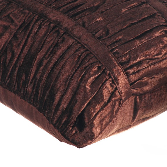 thehomecentric - Decorative Throw Pillow Covers Accent Pillow Couch Sofa Bed Pillow 16x16 Brown ...