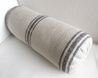 PARISIAN french country lumbar bolster pillow 7X20