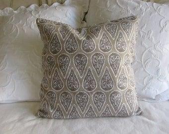 Anya Bisque decorative Pillow Cover 18x18 20x20 22x22 24x24 26x26