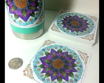 Mandala Sticker Inspired by SCI March Madness Tour