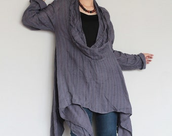 Endlessly Oversized blouse.... (one size fit most) B 1481