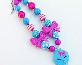 Kelsey Compact Shopkins Chunky Necklace