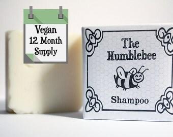 12 month supply: VEGAN Shampoo Bars