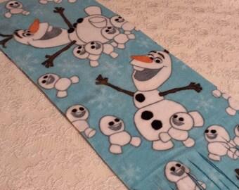 Five Buck Fleece Scarf Blow Out!   * Frozen's Olaf & Snowgies * Winter Fleece Scarf