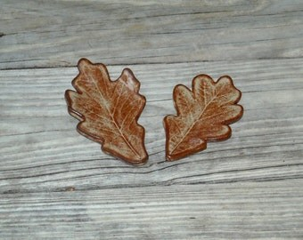 Ceramic Oak Leaf, Oak Leaf Spoon Rest, Oak Leaf Dish, Oak Leaf Tea Bag Holder, Oak Leaf Candle Holder, Oak Leaf Soap Dish