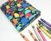 Crayon Wallet - READY TO SHIP Hip Trendy Travel -  Turtles