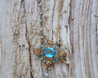 Vintage Restyled Bridal Necklace