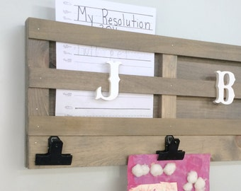 Wall Organizer For Home homework organizer | etsy