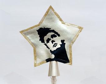 Morrissey ''Hang The DJ'' Christmas Star Tree Topper.