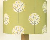 Olive Green Lampshade Drum Lamp Shade STUDIO SALE