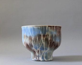 Andersen Design Pottery Bowl, Birch Trees Pattern, Andersen Ceramics Vase, Maine Pottery, Weston Neil Andersen, Brenda Andersen