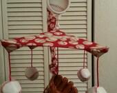 PLAY BALL Custom baseball Crib Mobile